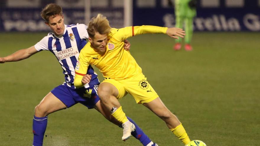 Stuani torna a ser titular per rebre el Ponferradina