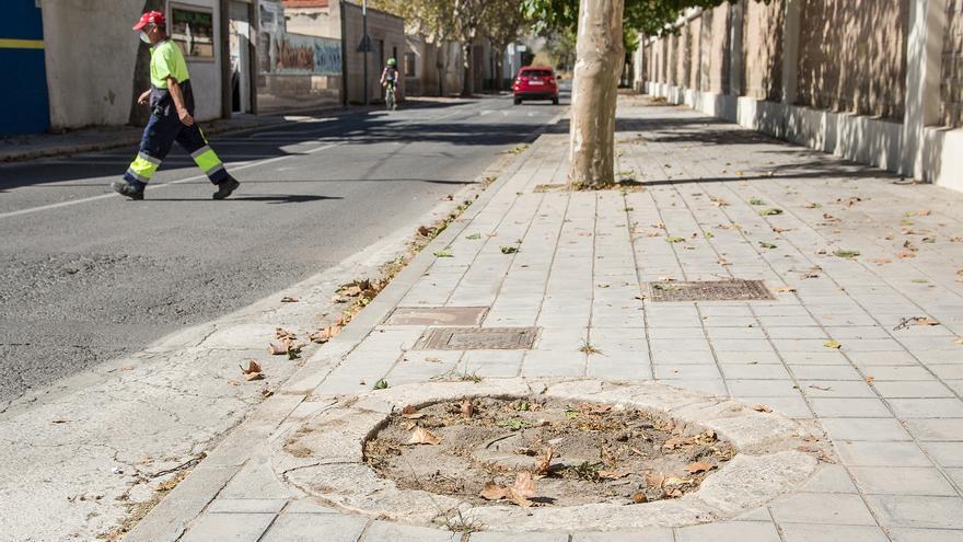 """Compromís propone la creación de """"calles verdes"""" para reducir la contaminación"""