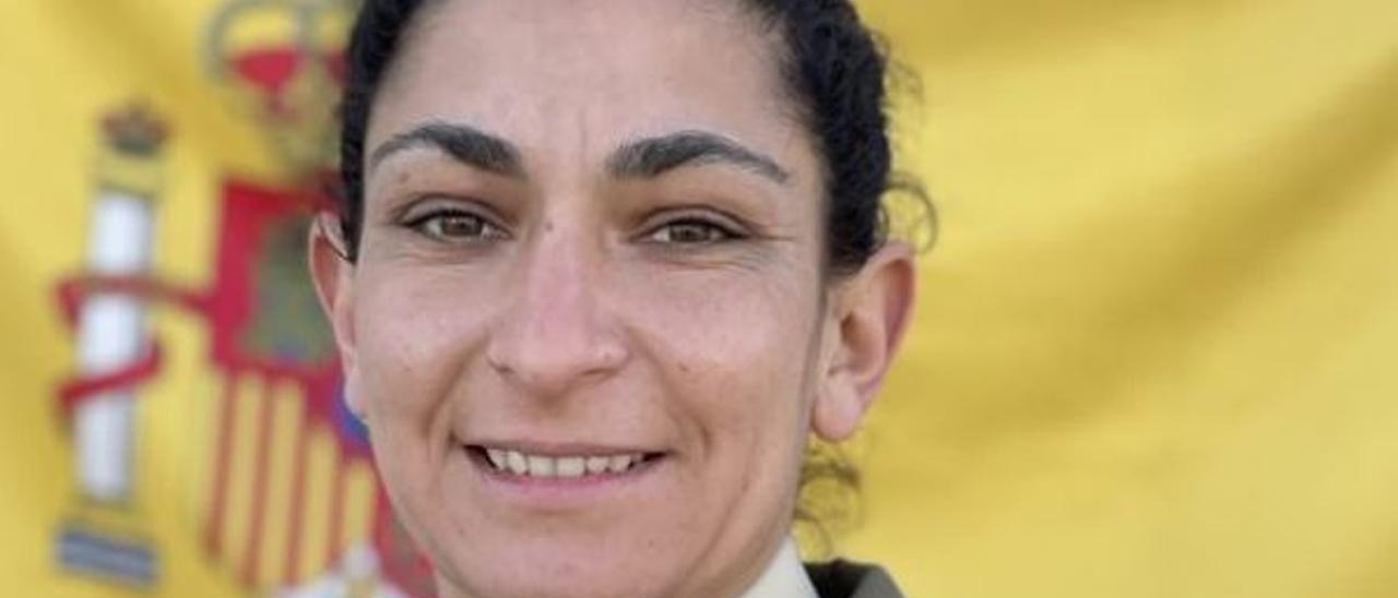 La sargento Débora Grau, fallecida ayer en Alicante en unas maniobras