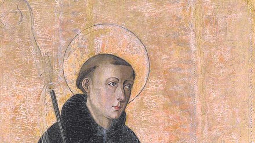 Un San Benito de Valldecrist para el Museo de Bellas Artes