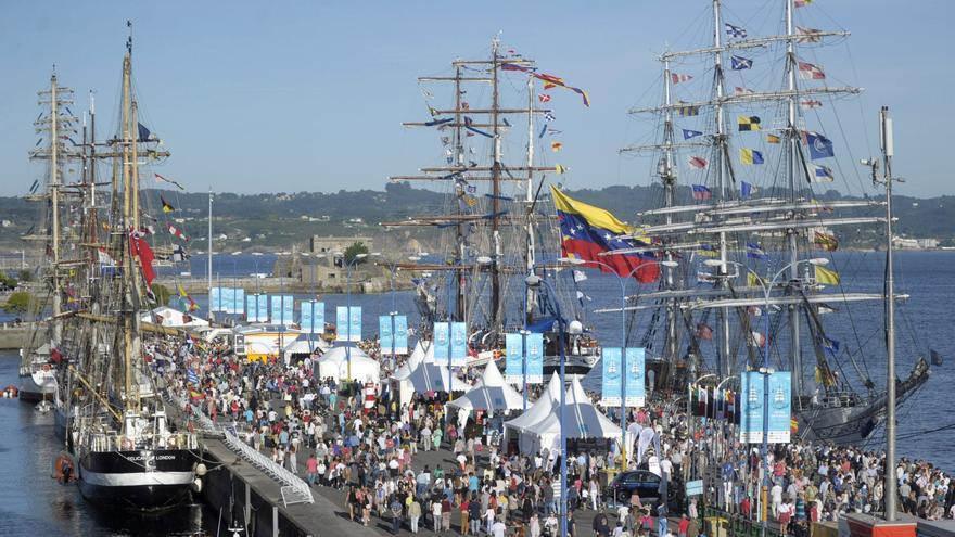 La organización confirma la renuncia de A Coruña como sede de la Regata de Grandes Veleros