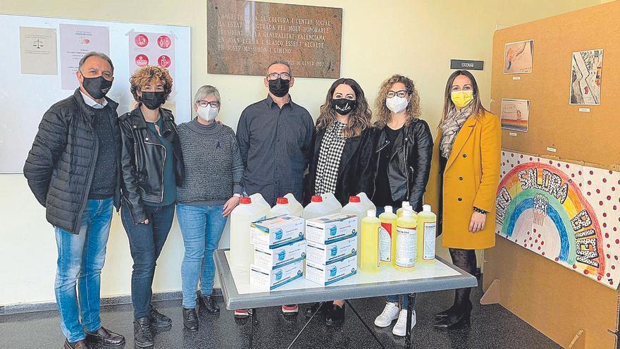 Museros repartirá 33.000 mascarillas y 2.200 litros de gel