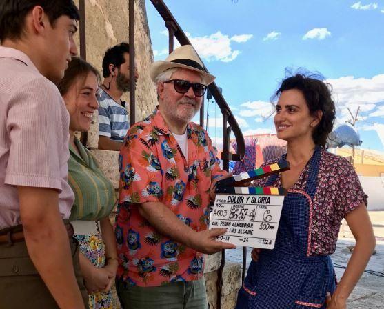 Almódovar rueda una película en Paterna