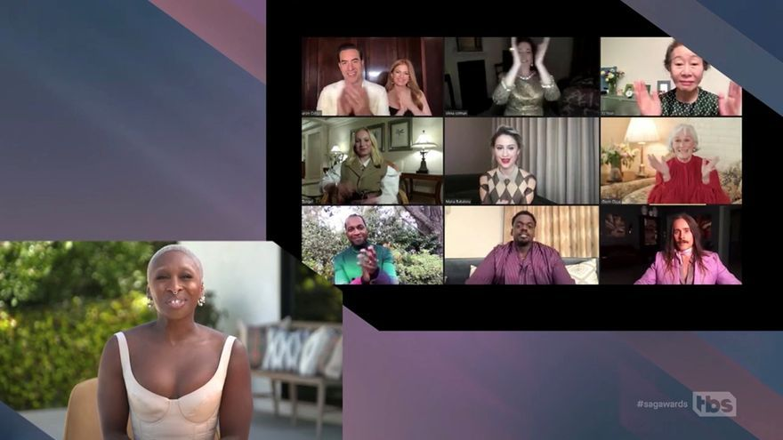 'El juicio a los 7 de Chicago', gran triunfadora en los premios del Sindicato de Actores