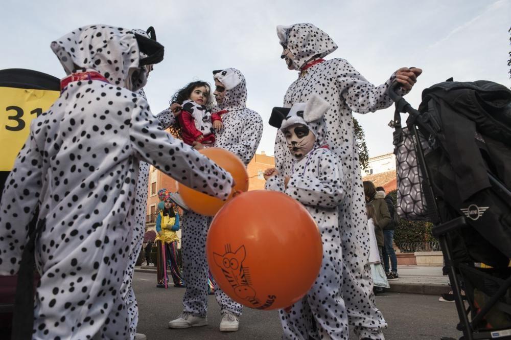 El desfile de Carnaval de Benavente, en imágenes