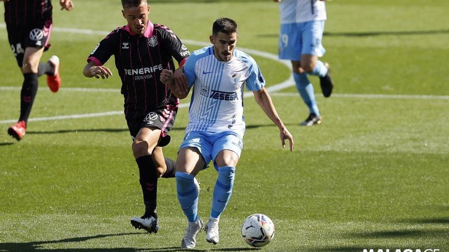 El Málaga CF-Tenerife tendrá público en las gradas
