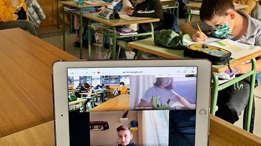 El colegio San Vicente de Paúl de Benavente aplica las nuevas tecnologías en las aulas