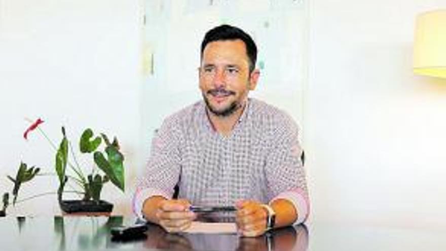 Rafa Ruiz, alcalde de Eivissa.