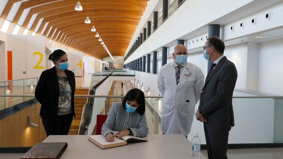 La ministra de Sanidad, Carolina Darias, visita Asturias