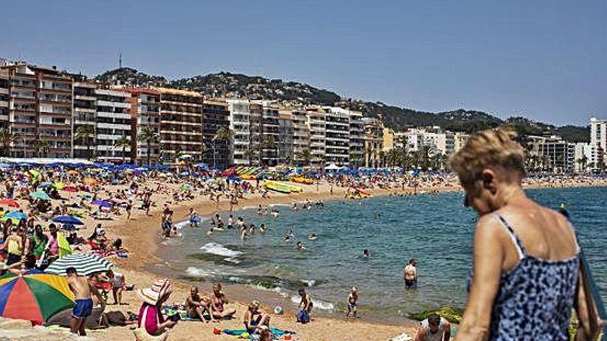 Girona viu la tercera onada de calor en menys d'un mes amb 36,6 ºC