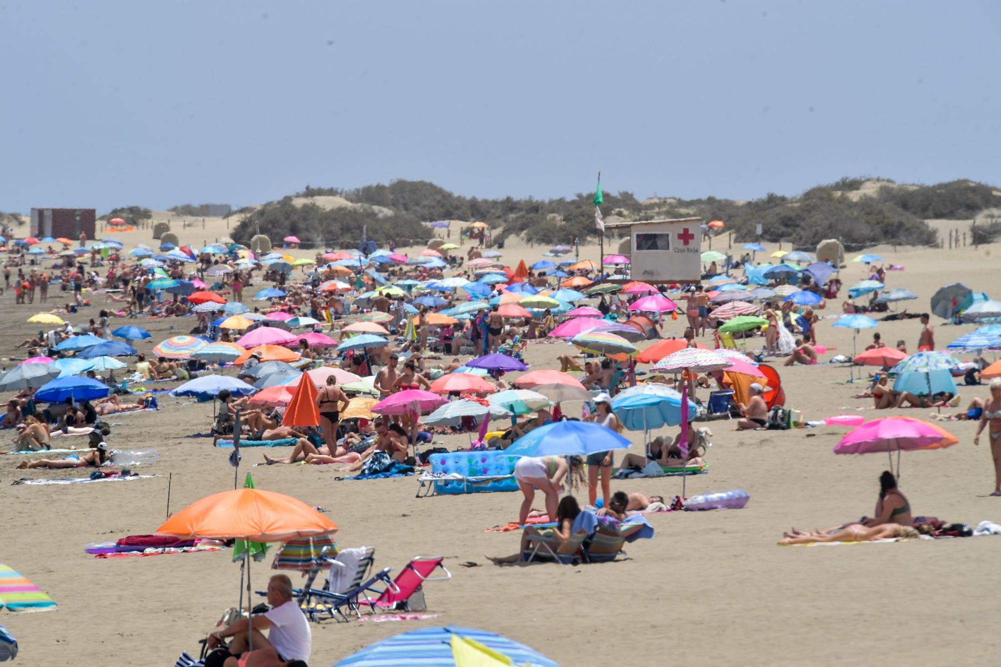 Ola de calor en Gran Canaria (16/07/2021)