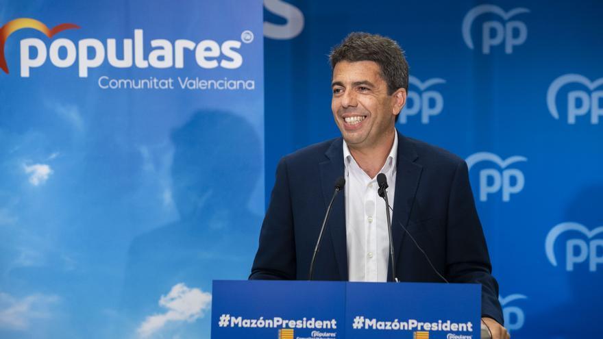 El futuro líder del PP, Carlos Mazón, ha sido durante años una de las voces del grupo Los Marengo