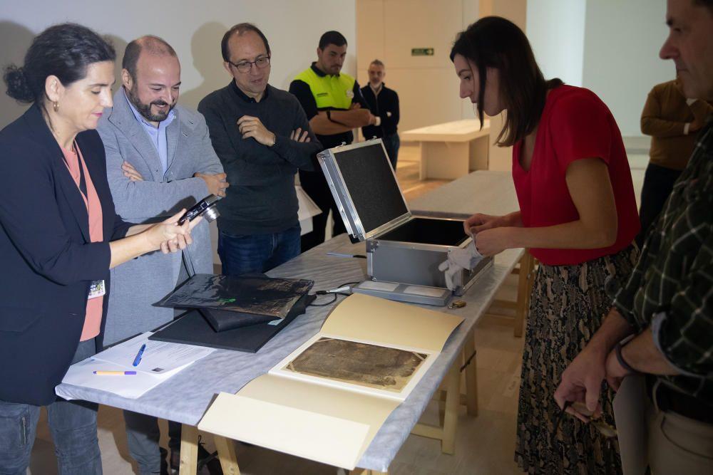 The Book of Leinster llega a Galicia tras 800 años.