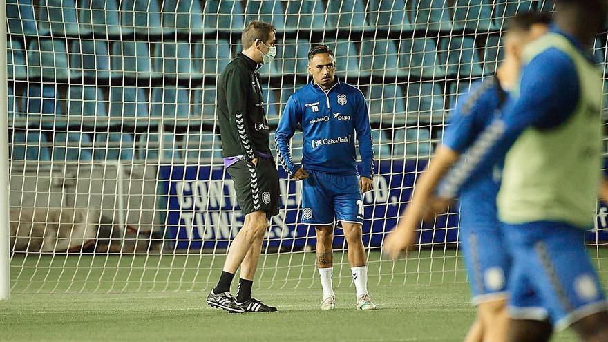 Ramis se pone al frente del CD Tenerife
