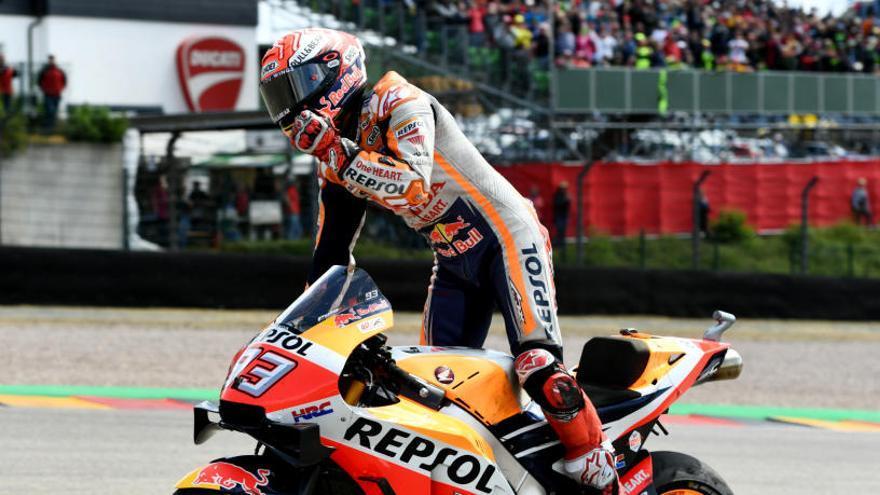 Cinquena victòria de Márquez que amplia el seu avantatge