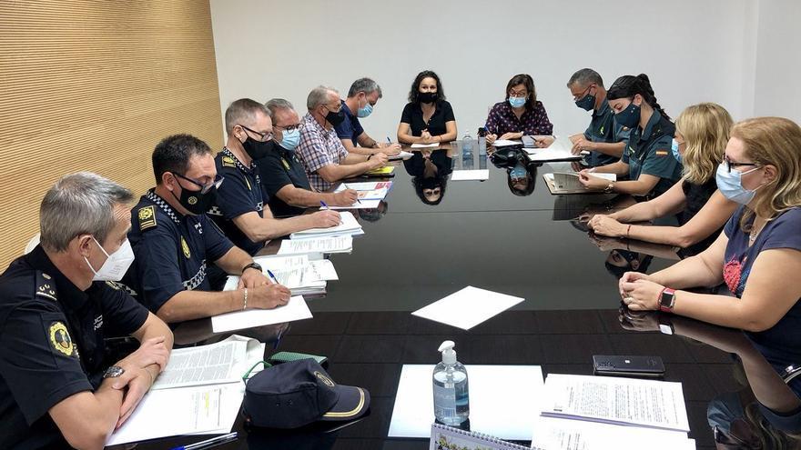 Almassora dispondrá de 422 operativos de vigilancia en los 94 actos del Roser