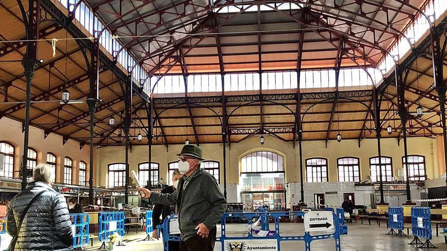 Finaliza la obra de la nueva cubierta metálica de la plaza de abastos maliayesa