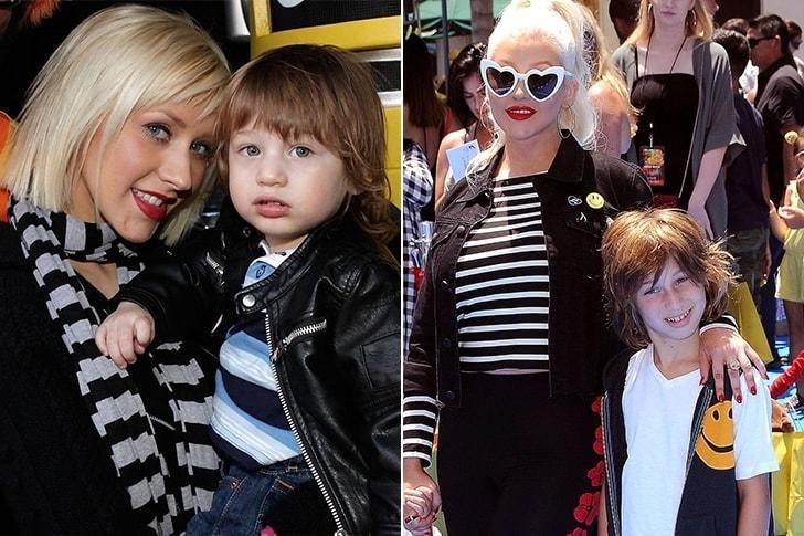 El hijo de Christina Aguilera.