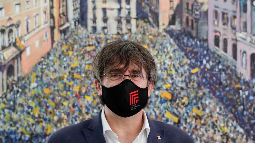 Puigdemont se enfrenta a un incierto panorama judicial