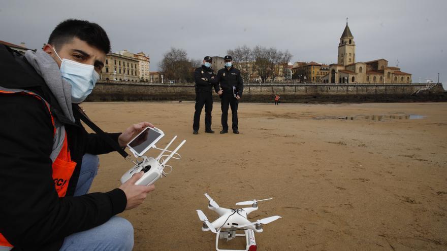 Asturias estrena su policía aérea con drones