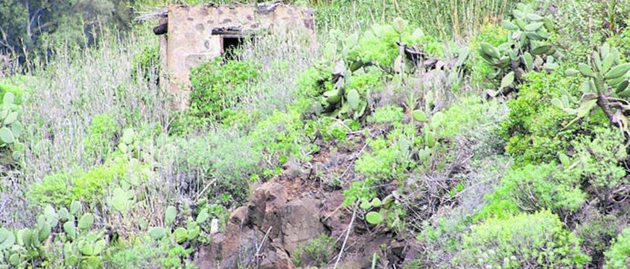 La Caja del Pleito, patrimonio olvidado de Guayadeque