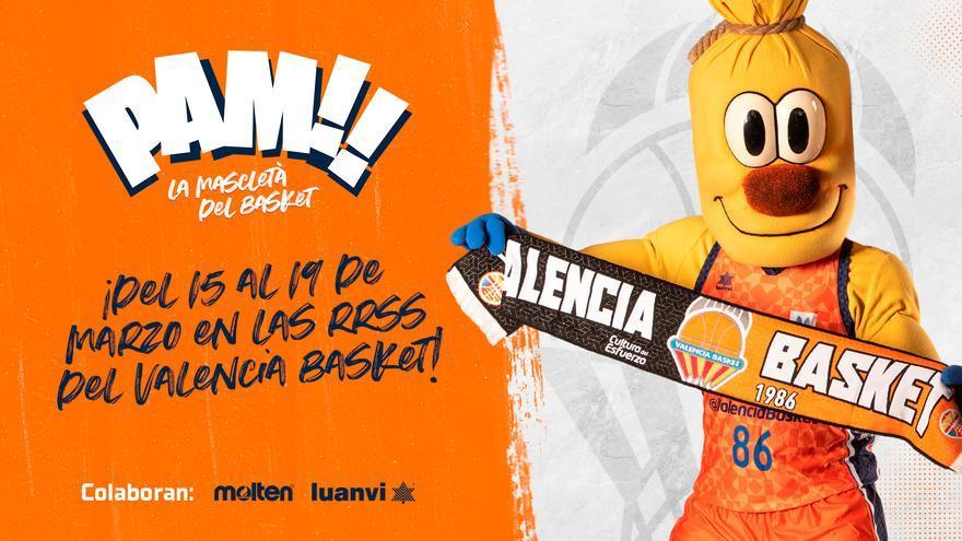 """La original """"mascletà"""" que prepara València Basket para la semana de Fallas"""