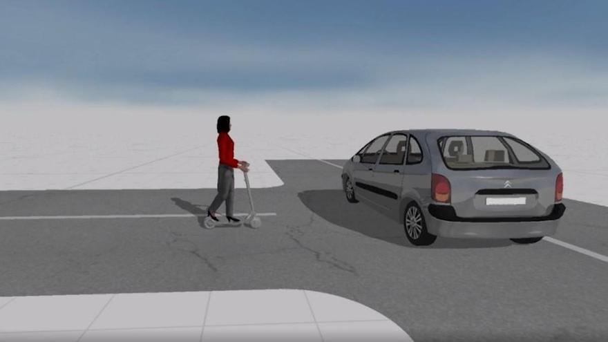 Patinete eléctrico: riesgos de chocar a 25 km/h