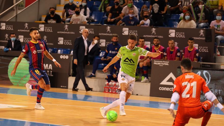 El Palma Futsal se doctora ante el Barça en Son Moix