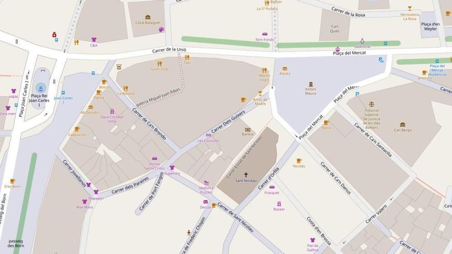 So wächst die Fußgängerzone im Zentrum von Palma de Mallorca