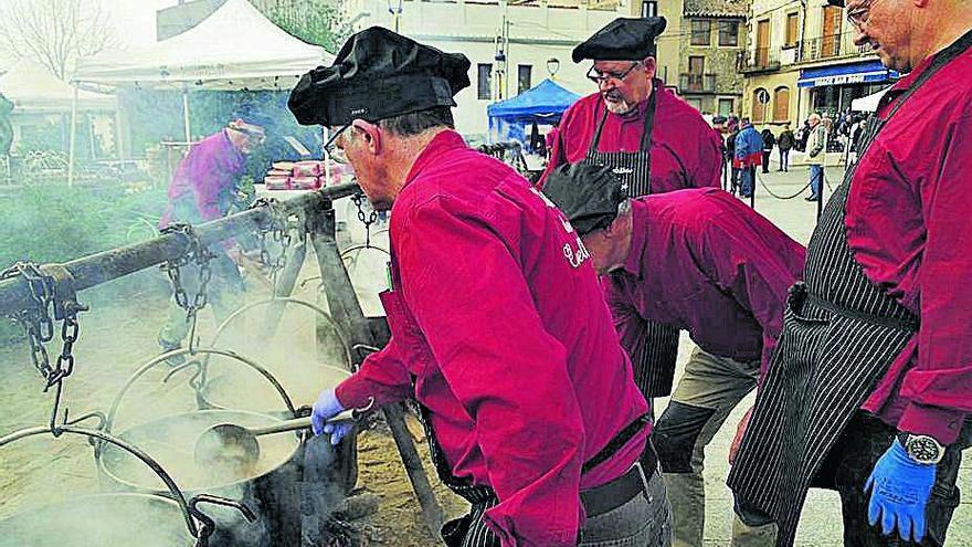 Castellterçol acull avui una festa de l'escudella de petit format
