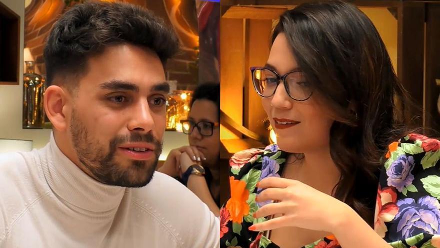 Agustín descol·loca Silvia a 'First Dates' per una inesperada pregunta: «La meva cara deu haver sigut un quadro»