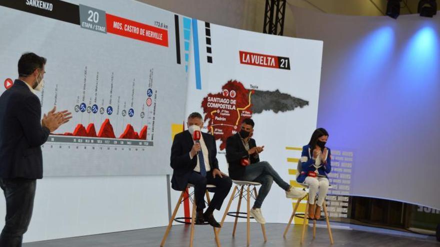Martín vende Sanxenxo como un destino para todo el año en la presentación de La Vuelta