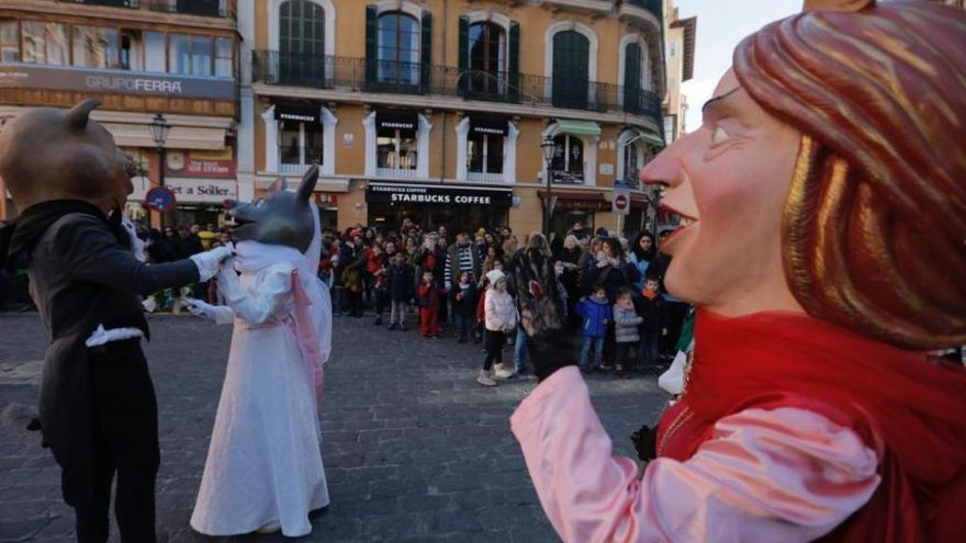 Palmas Stadtfest Sant Sebastià 2019 beginnt bissig