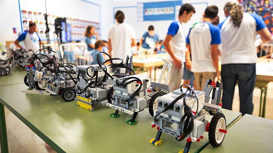 Ibiza acoge el torneo local de la World Robot Olympiad