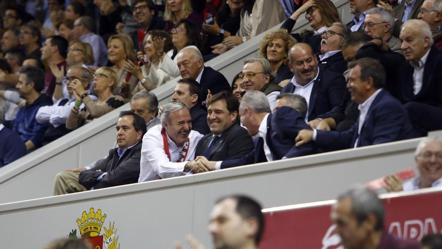 Lambán  y Azcón felicitan al equipo por el bronce
