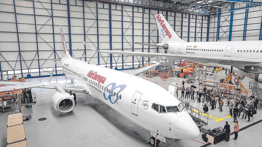 La Audiencia Nacional obliga a Air Europa a incluir en ERTE a 675 empleados