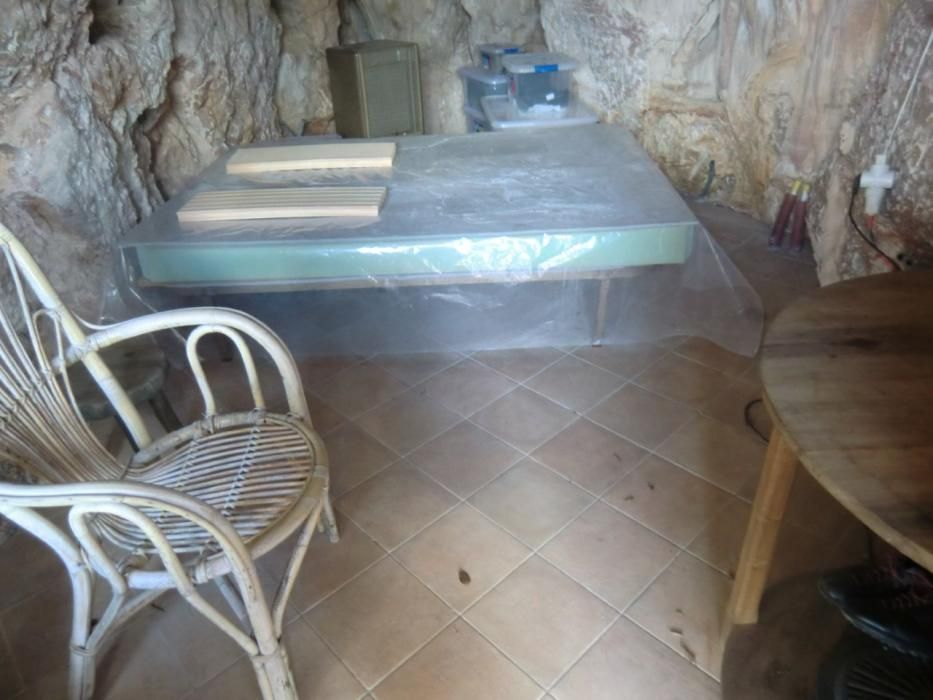 Una cueva reconvertida en vivienda