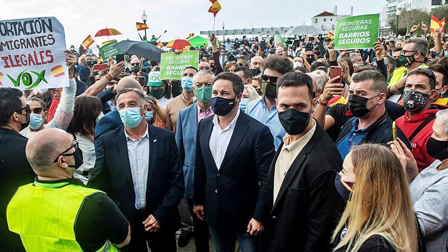 Protestas contra  Vox en Lanzarote