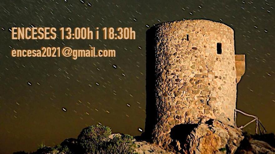 Las torres de defensa de Mallorca se encenderán este sábado por los derechos humanos