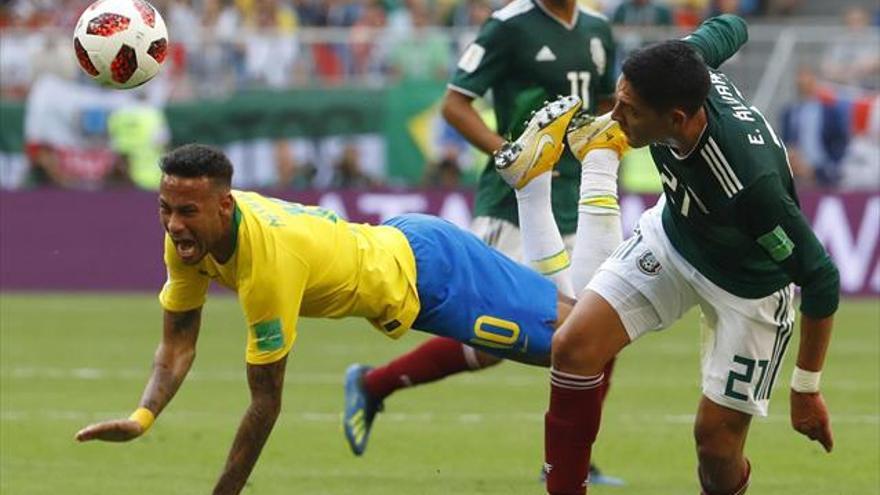 Brasil no falla y ya está en cuartos
