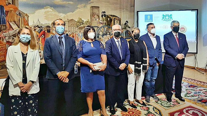 La cochinilla de Canaturex entra en la Real Fábrica  de Tapices de Madrid