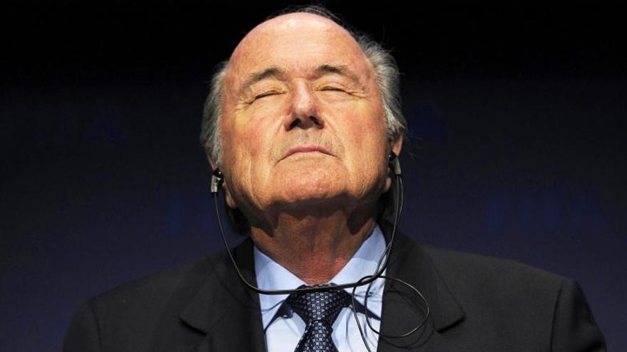 """Blatter: """"He tenido miedo, incluso físicamente"""""""