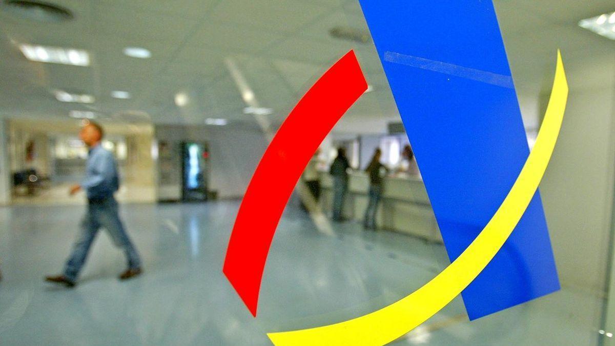Imagen de una oficina de la Agencia Tributaria.