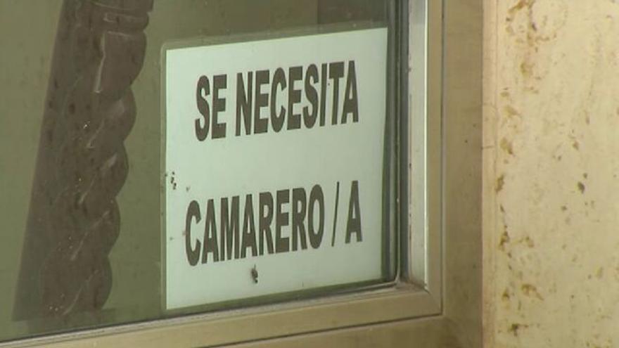 Problemas para encontrar camareros en restaurantes y bares de toda España