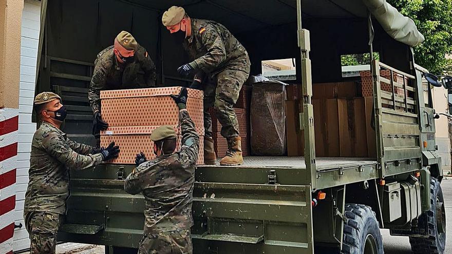 Envío de material humanitario a Mali