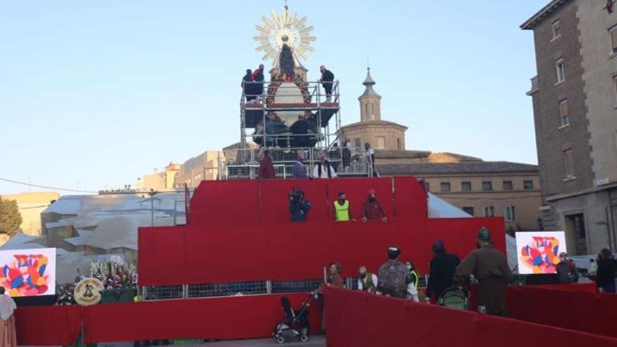 Galería de la Ofrenda a la Virgen del Pilar