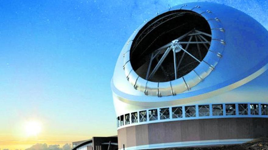 Los tribunales dejan al Telescopio de Treinta Metros de La Palma sin suelo para su construcción