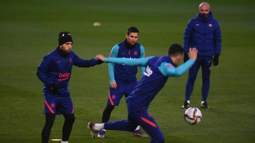 Messi, duda en el Barcelona para la Supercopa ante la Real Sociedad