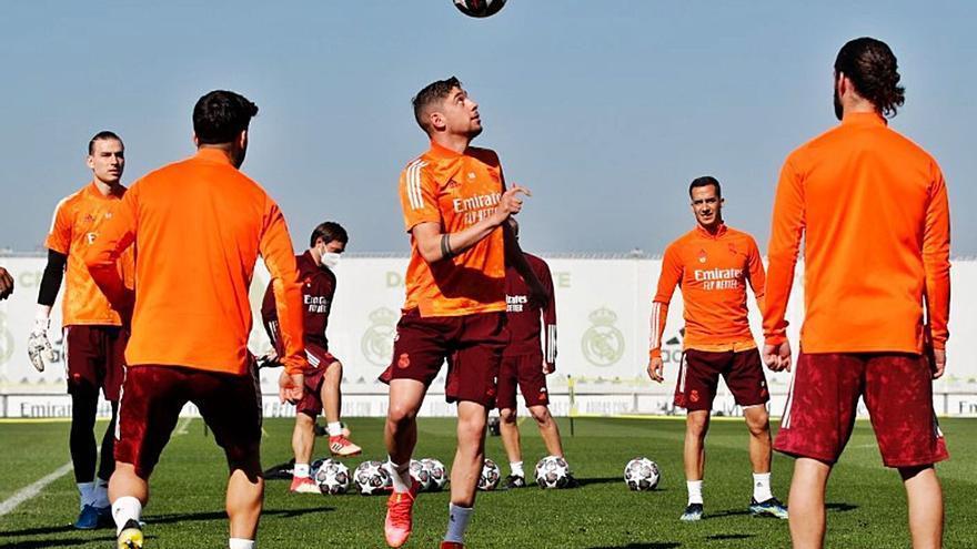 El Madrid, con Valverde y sin Hazard
