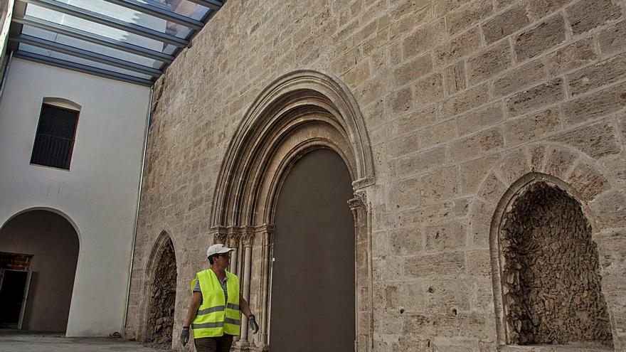 Los vicentinos urgen la cesión de espacios en el monasterio de la Roqueta
